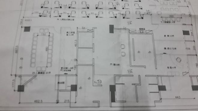 辦公室冷氣空調施工(設計圖)-1