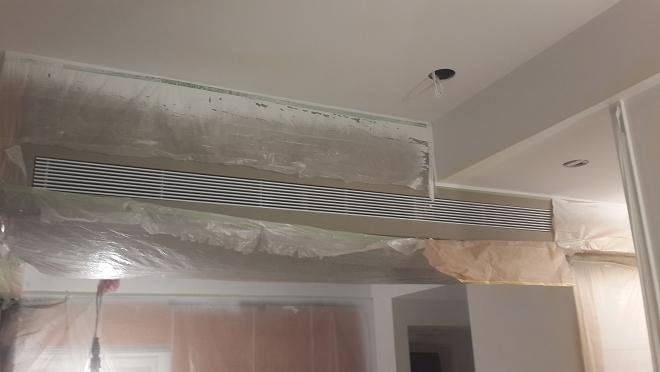 中央空調冷氣出風口蓋完工