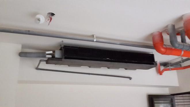 分離式冷氣的室內銅管佈線-3
