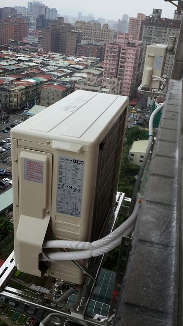 分離式冷氣室外機管線更新