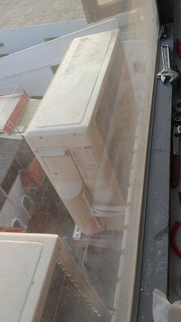 分離式冷氣室外機一般保養