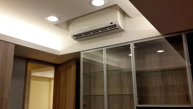 不破壞室內空間質感的冷氣安裝