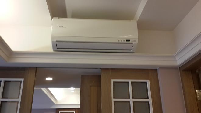 因應多種裝潢設計的分離式冷氣安裝