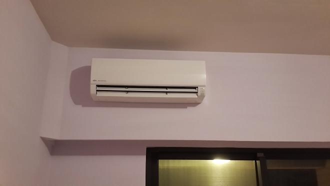 大金分離式變頻冷氣室內機安裝